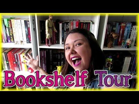 Bookshelf Tour 2018!! | Louca dos livros