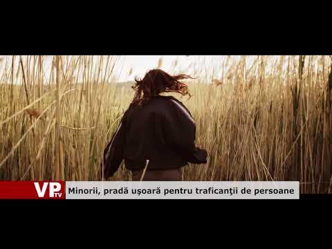 Minorii, pradă ușoară pentru traficanții de persoane