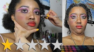 Video I WENT TO THE WORST REVIEWED MAKEUP ARTIST ON YELP IN MY CITY MP3, 3GP, MP4, WEBM, AVI, FLV Juli 2019