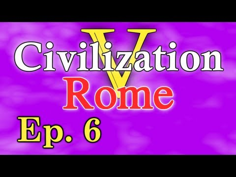 "Civilization 5: Rome ep. 6 ""Damn Barbarians"""