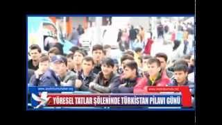 Zeytinburnu Yöresel Tatlar Şöleninde Doğu Türkistan Pilav Günü