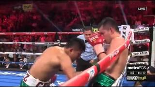 What fight between Nonito Donaire & Cesar Juarez. Possible Fight of the Year? Nonito Donaire wins a unanimous decision 116-110 twice and 117-109. Donaire wins the vacant WBO super bantamweight title #SupremeBoxing