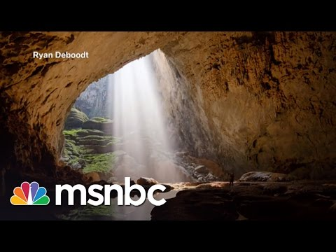 Amazing Drone Video Of World's Largest Cave