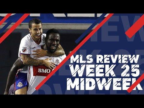 MLS Midweek Review:  Week 25
