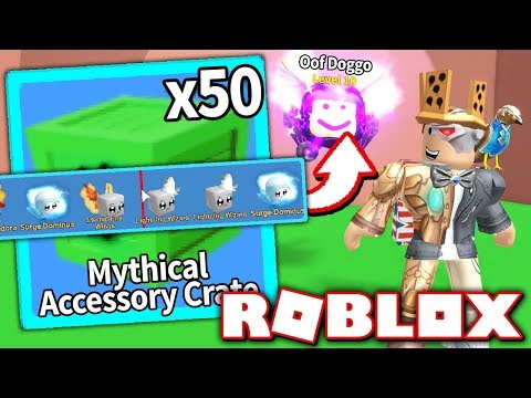 UNBOXING ALL *NEW* PET ACCESSORIES In MINING SIMULATOR UPDATE!! (Roblox)