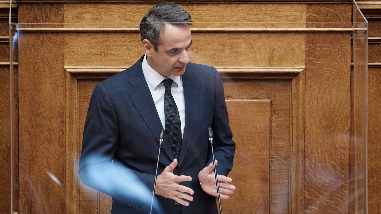 Ομιλία Κ. Μητσοτάκη στη Βουλή  για το νομοσχέδιο του Υπουργείου Περιβάλλοντος και Ενέργειας