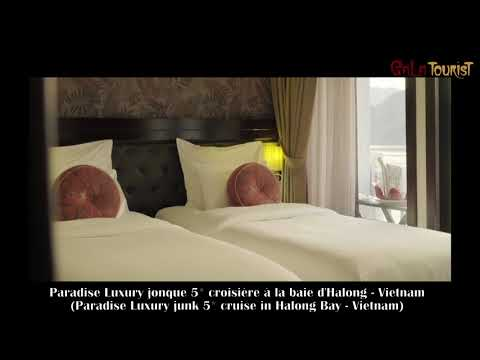 Paradise Luxury jonque croisière baie d'Halong (Paradise Luxury junk cruise-Galatourist)