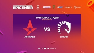 Astralis vs Liquid - EPICENTER 2017 - map2 - de_train [Crystalmay, Enkanis]