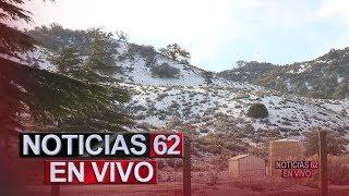 Temperaturas congelantes en toda la región. – Noticias 62. - Thumbnail