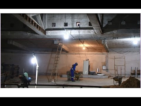 Obras de reconstrução do  Cine Teatro Ouro Verde são retomadas