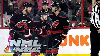 NHL Stanley Cup Playoffs 2019: Capitals vs. Hurricanes | Game 4 Highlights | NBC Sports