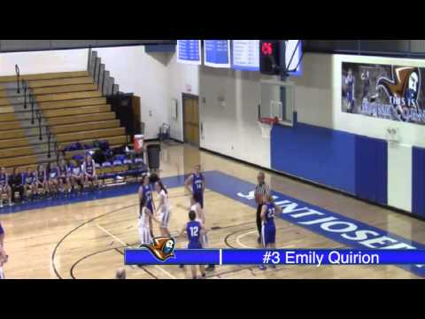 Women's Basketball Highlights vs. Colby College