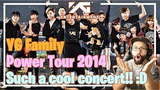 Video YG Family Tour - Go Away, Gangnam Style, Fantastic Baby **Live Reaction** MP3, 3GP, MP4, WEBM, AVI, FLV Agustus 2018