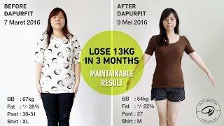 Download Video DOKUMENTARI DIET Fenny: Turun 13kg dalam 3 bulan dengan Dapurfit MP3 3GP MP4