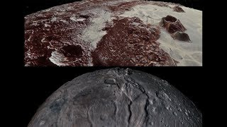 Using NASA's New Horizons data, mission scientists created flyover movies of Pluto and its largest moon Charon. The New Horizons spacecraft sent back to Earth the first close-up pictures of Pluto and its moons in July 2015. The flyover movies offer spectacular new perspectives of the many unusual features, using actual New Horizons data and digital elevation models of Pluto and its largest moon Charon. Digital mapping and rendering were performed by Paul Schenk and John Blackwell of the Lunar and Planetary Institute in Houston. All feature names in the Pluto system are informal.Credit: NASA/Johns Hopkins University Applied Physics Laboratory/Southwest Research Institute/Lunar and Planetary Institute
