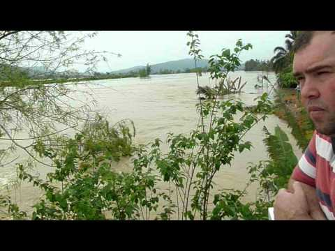 Enchente em Ilhota-SC (Vale do Itajaí) (09/09/2011)