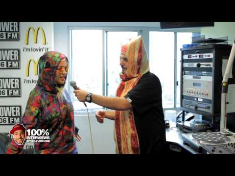 vickuno - Rita Ora interview at Power 106 with DJ Vick one. Halloween Edition.