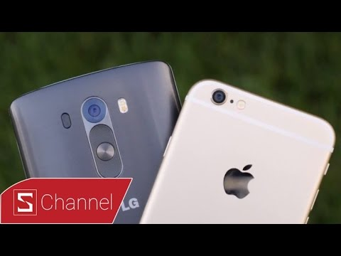iPhone 6 vs LG G3 Android 5.0 : Đọ camera
