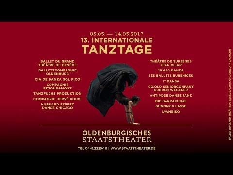 13. Internationale Tanztage - 05.-14.05.2017