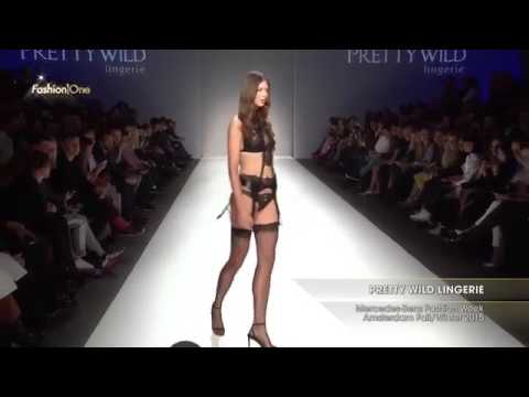PRETTY WILD LINGERIE  - BEST FASHION MODEL SHOW SEXY LINGERIE