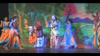Krishna Raas Leela Dance By Bharat Sanders As Krishna.avi
