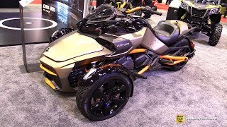7. 2019 Can Am Spyder F3 S - Walkaround - 2019 Quebec Motorcycle Show