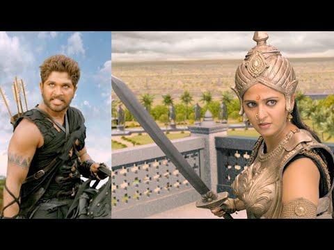 Rudrama Devi Malayalam movie l Allu arjun & anushka shetty combination scene l Mazhavil Manorama