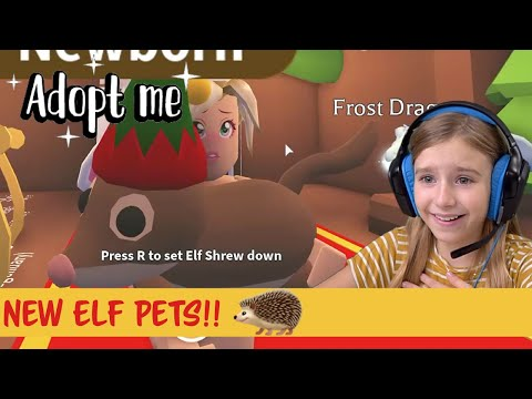 I Bought the New Adopt Me Elf Pets!!