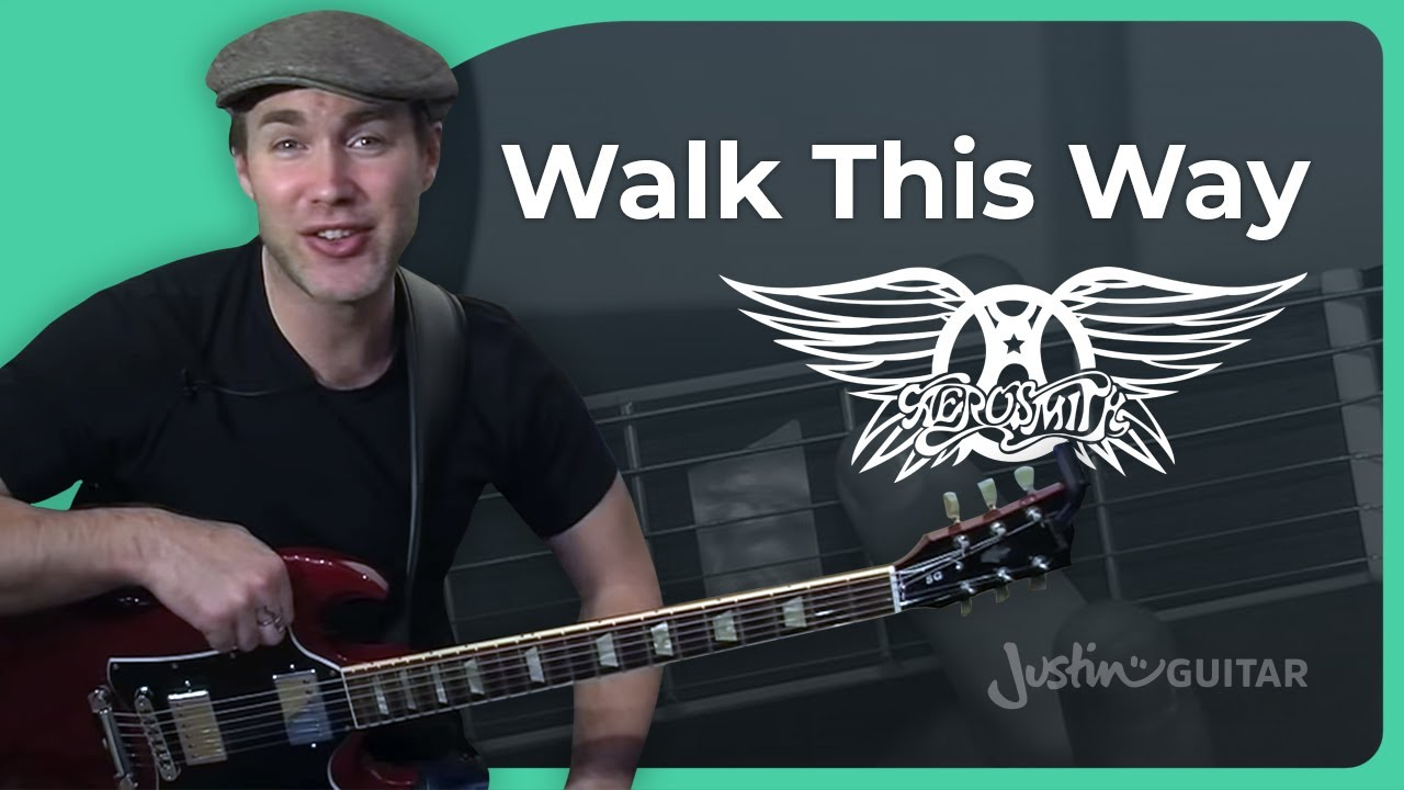 Riff #3: Walk This Way – Aerosmith (Songs Guitar Lesson RF-003) How to play