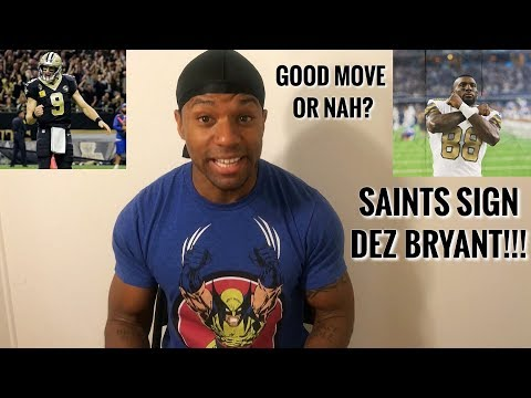 SAINTS SIGN DEZ BRYANT!!! SAINTS MOST DANGEROUS OFFENSE IN THE NFL?!