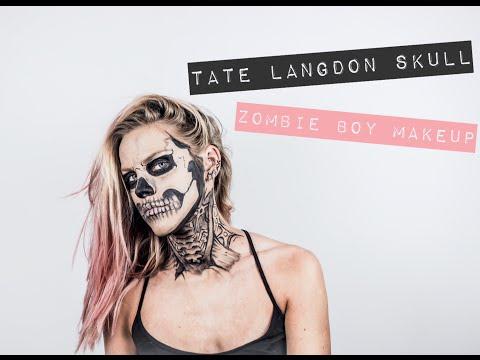 Tate Langdon AHS - Zombie Boy Tuto Makeup