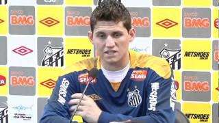 Confira os melhores momentos da coletiva de imprensa do goleiro Rafael. Ele fala sobre o brasileirão 2011, seleção brasileira e muito mais.