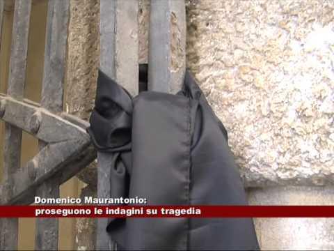 domenico murantonio è morto da solo?