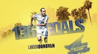 Landon Donovans 136 Treffer in der MLS