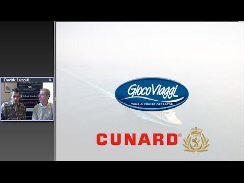 Video CROCIERE NEGLI USA: Cunard Viaggi Leggendari (26/11/2015)