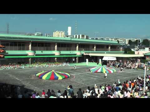 高ヶ坂幼稚園 運動会 バルーン