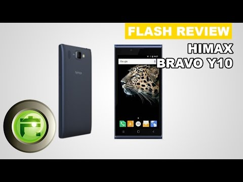 Review & Unboxing Himax Bravo Y10 Smartphone Quadcore Ram 2GB by FlashGadgetStore Indonesia