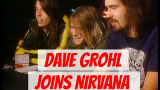 Dave Grohl joins Nirvana (Kurt and Dave drive to L.A. to record Nevermind)