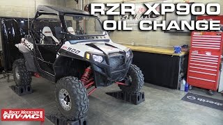 8. Polaris RZR XP 900 Oil Change