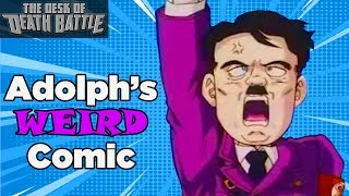 Hitler has been portrayed in a surprising amount of media but this comic takes the cake...Click to Subscribe: http://bit.ly/SubtoScrewAttackOFFICIAL DEATH BATTLE SUGGESTION FORM: http://bit.ly/2fM8Z8l►Watch our stuff early: http://bit.ly/2m9WLsZ►Our store: http://bit.ly/NewScrewAttackStore►Look how social we are:ScrewAttack on FACEBOOK: http://bit.ly/ScrewAttackFacebook ScrewAttack on TWITTER: http://bit.ly/ScrewAttackTwitter►Follow the crew on Twitter:Chad - https://twitter.com/ScrewAttackChadSean - https://twitter.com/SeanHinzBen - https://twitter.com/BenBSingerNick - https://twitter.com/THENervousNickSam - https://twitter.com/ScrewAttackSamAustin - https://twitter.com/PotatoHoundJohn - https://twitter.com/JohnFMfilmsTorrian - https://twitter.com/AnimatedTorriiGerardo - https://twitter.com/HybridRainJessica - https://twitter.com/JLDtweets► Watch our other showsWatch DBX - http://bit.ly/DBXPlaylistWatch DEATH BATTLE! - http://bit.ly/DEATHBATTLEPlaylistWatch Top 10's - http://bit.ly/SATop10PlaylistWatch The Desk of DEATH BATTLE - http://bit.ly/DeskofDBPlaylist