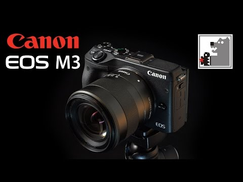 Canon EOS M3 | новая беззеркалка от CANON (видео)