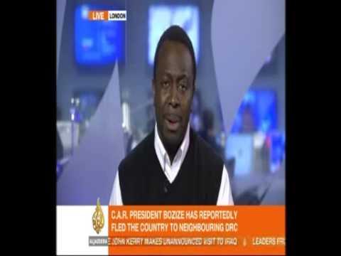 Ayo Johnson - Aljazeera - President Bozize flees Central African Republic