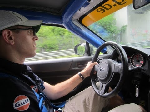I Drive a Subaru BRZ on the Nurburgring Nordschleife