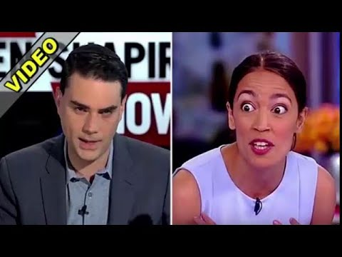Ben Shapiro Just Offered Socialist Ocasio Cortez $10,000 If She'll Do One Small Favor