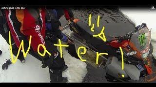 7. Getting stuck in Mink lake on my Yamaha Phazer RTX