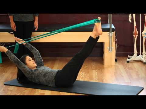 Upside-Down Pilates – Resistance Band – Lesson 56 – Full 30 Minute Pilates Workout – HD