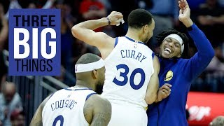 3 Big Things: Warriors add new wrinkle to offense