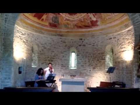 Musica classica nella chiesa romanica di Cantello