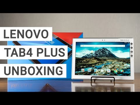 Lenovo Tab4 10 Plus Unboxing + First Impressions