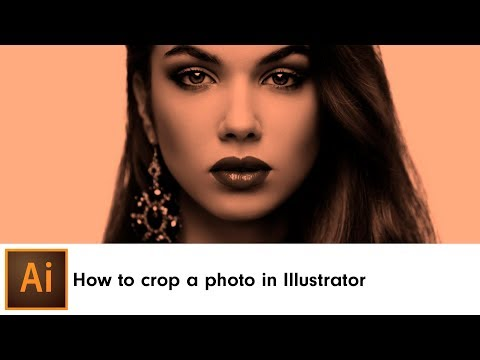 How To Crop An Image In Adobe Illustrator